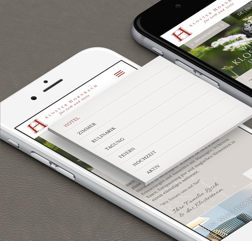 Webdesign f r boutique hotel in rheinland pfalz conceptstory for Design hotel pfalz