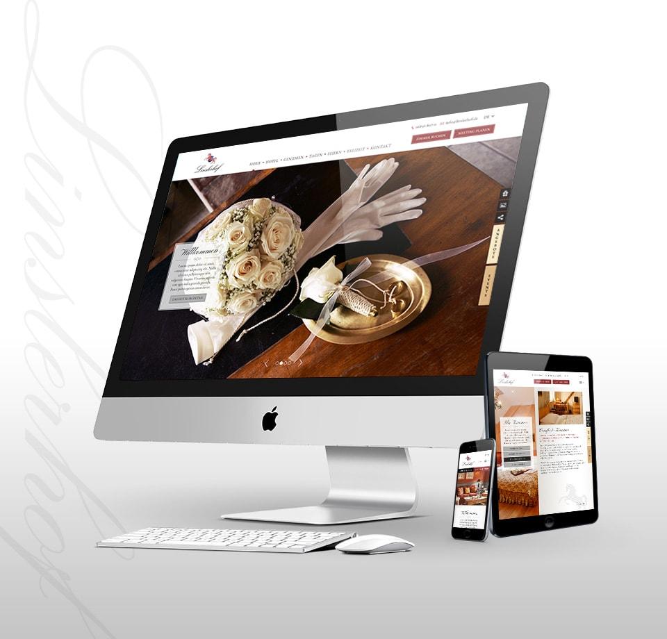 Webdesign für Hotel in Süddeutschland