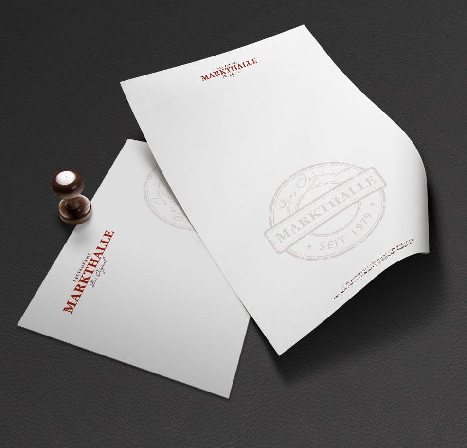 Branding und Grafikdesign für Restaurant