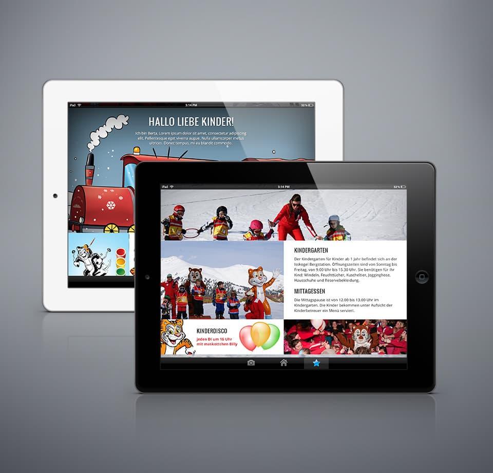 Webdesign für Skischule in Österreich
