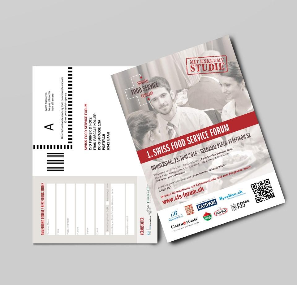 Corporate Identity Entwicklung für Swiss Food Service Forum