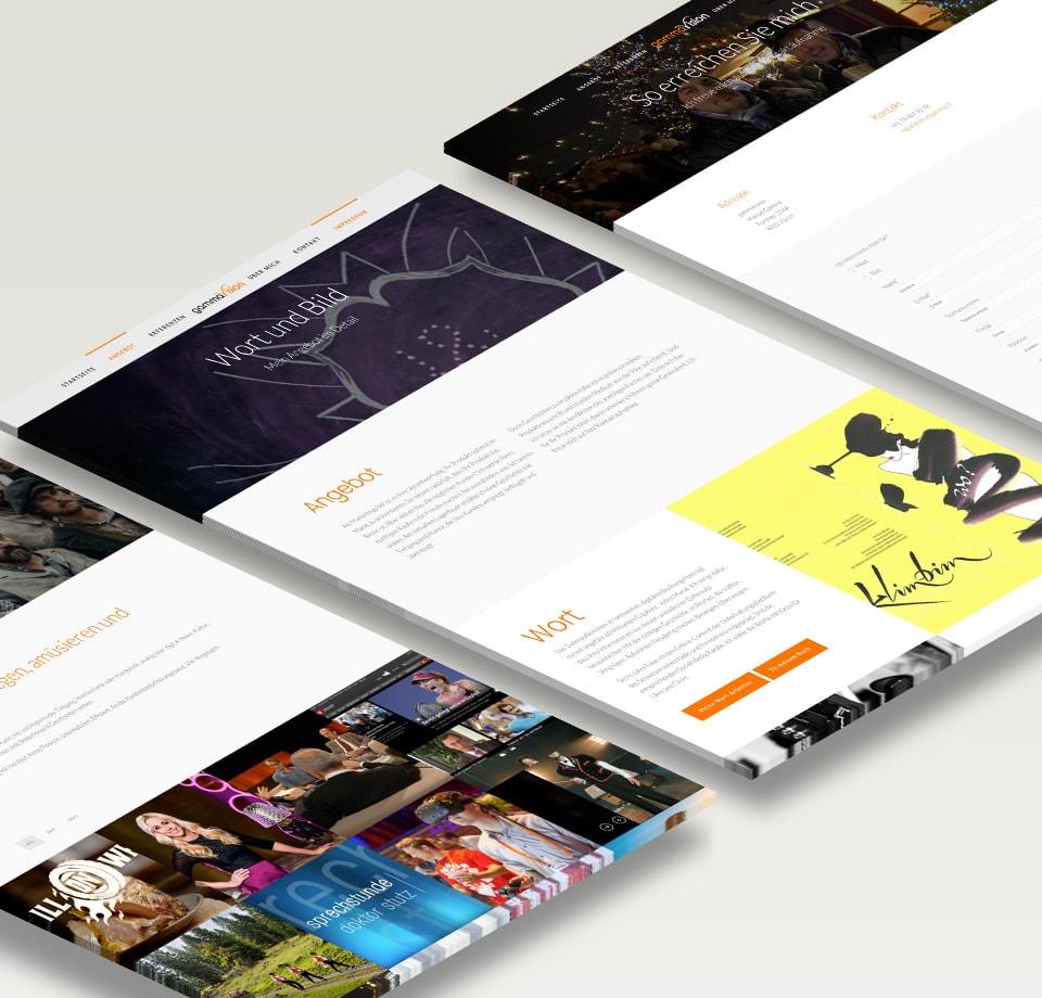 WordPress Webseite für Bewegtbild-Anbieter
