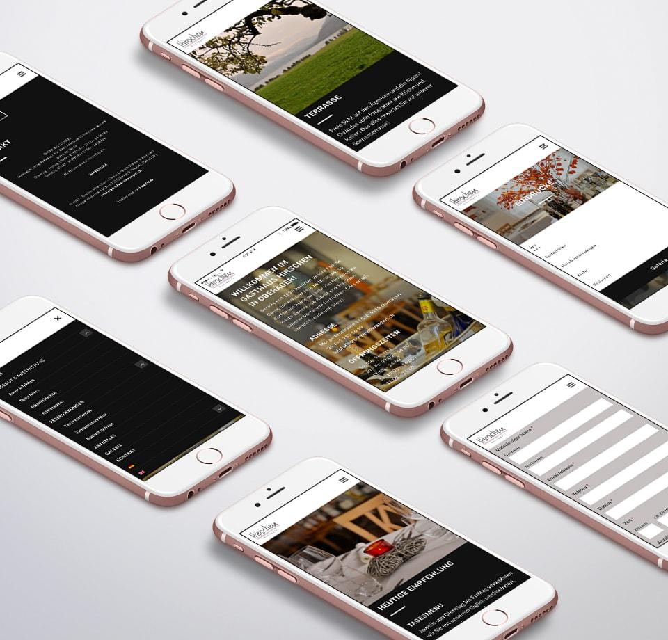 Preisgünstige Restaurant Homepage erstellen Schweiz