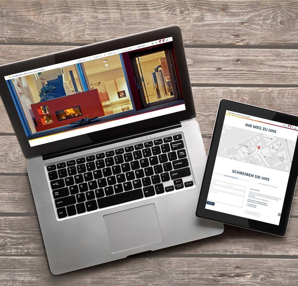 WordPress Programmierung – Webseite Ofenbauer