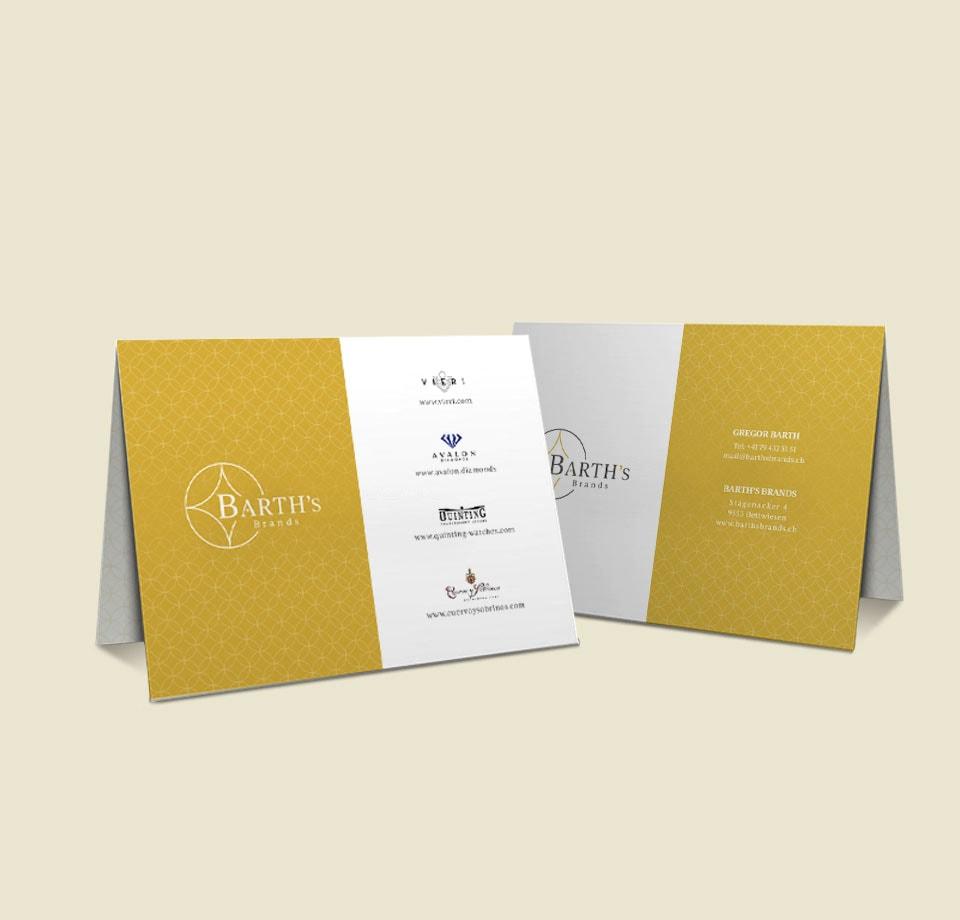 Corporate Identity Konzept für Juwelier