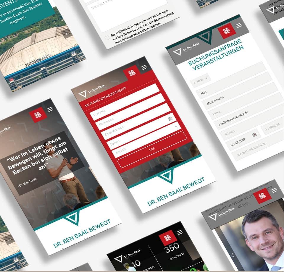 Webentwicklung WordPress für Personal Coach