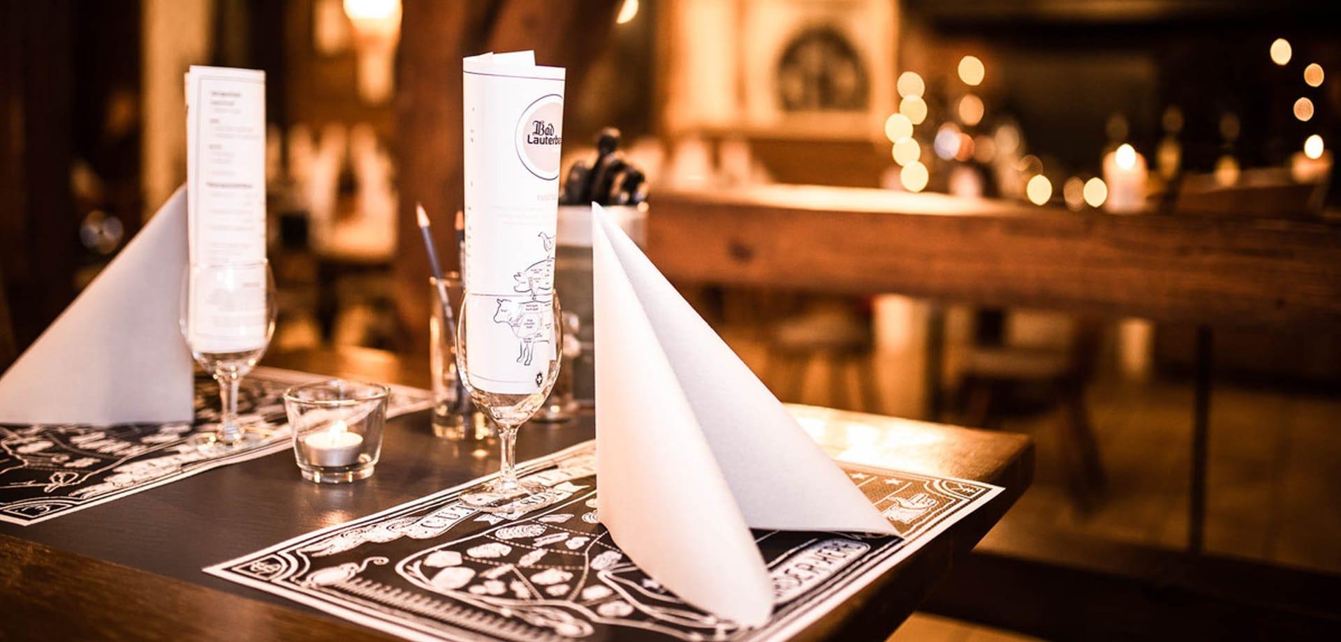 Speisekarte erstellen für Schweizer Restaurant