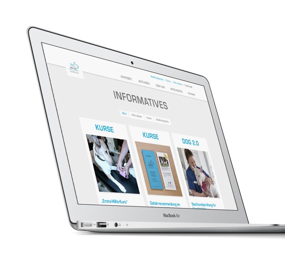WordPress Entwicklung Agentur – Webseite für Tierarztpraxis